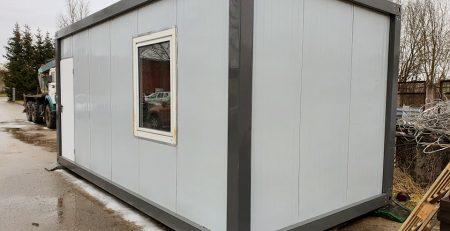 Moduliniai namai / konteineriai Kariga - mobilūs namai