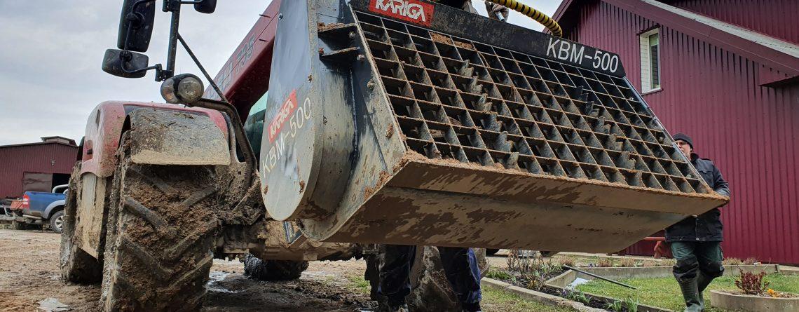 Cemento / Betono maišyklė Kariga. Mobili cemento maišyklė