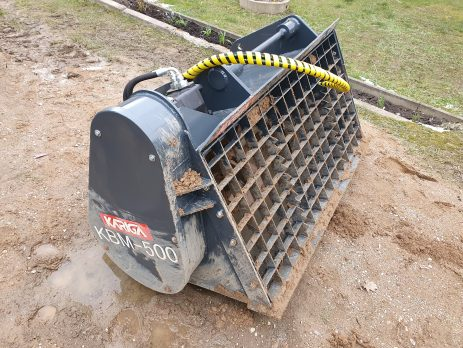 Our concrete mixing bucket is suitable for telehandlers, front loaders, wheel loaders and hydraulic excavators.
