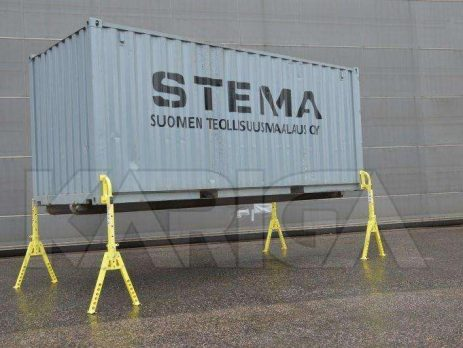 Shipping Container Support Legs - KARIGA container legs