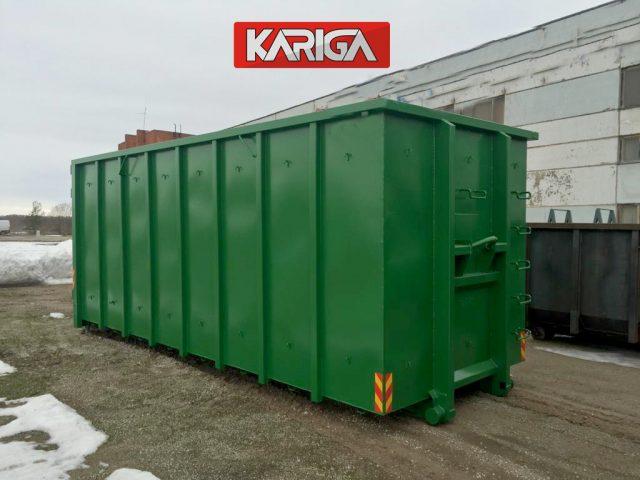 Užtraukiami konteineriai, kablio tipo konteineriai, hook konteineriai KARIGA