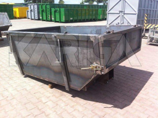 Užtraukiami konteineriai - KARIGA. Atliekų konteineriai.