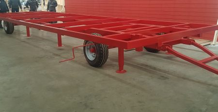Chassis for mobile houses / metal frames for mobile houses